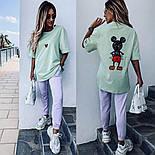 Костюм жіночий: футболка з міккі маусом і штани (в кольорах), фото 5