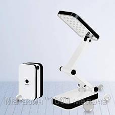 Лампа LED TABLE LAMP DP LED-666 800 mAh,Лампа LED,Аккумуляторная светодиодная лампа, фото 2