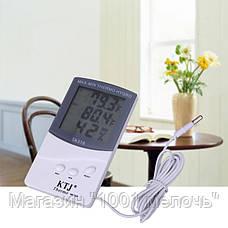 Термометр TA 318 + выносной датчик температуры, фото 2