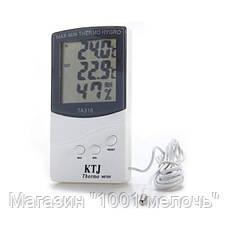 Термометр TA 318 + выносной датчик температуры, фото 3