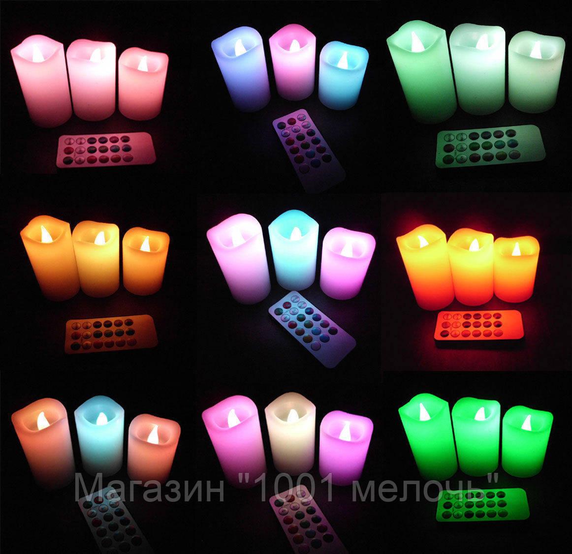 Светодиодные свечи Luma Candles с пультом 355