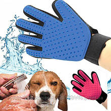 Перчатка для снятия шерсти с домашних животных PET BRUSH GLOVE!Хит цена