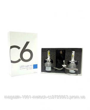 LED лампы Xenon C6 H4 Ксенон (50), фото 2