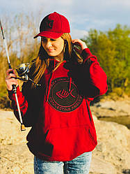 Толстовка Connecting Anglers Red