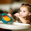 Тарелка непроливайка-неваляшка Gyro Bowl, фото 5