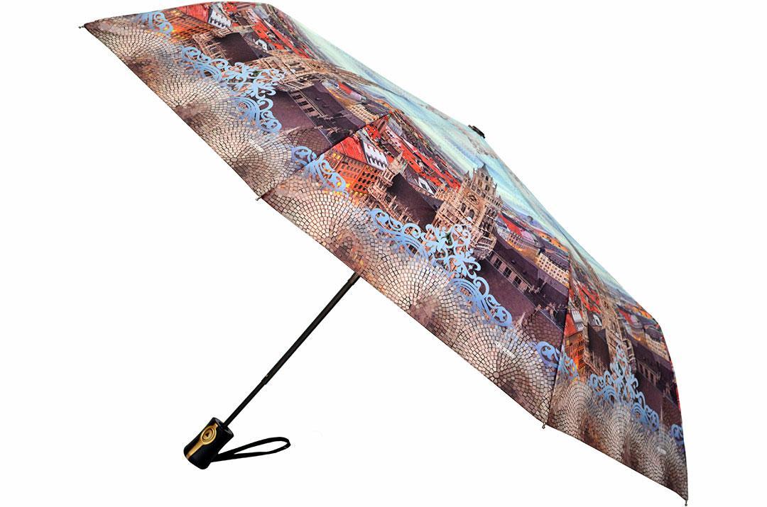 Женский зонт Три Слона ( полуавтомат ) арт. L3881-08