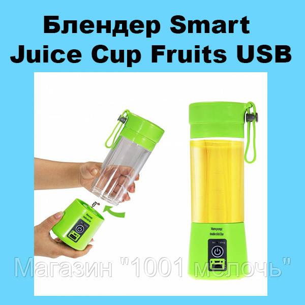 Блендер Smart Juice Cup Fruits USB