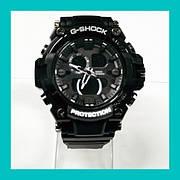 Наручные часы G-Shock 2 железный черный, черный с красным, черный с зеленым