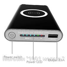 Зарядка Power Bank 20000 mАh с беспроводной зарядкой (реальная емкость 8000), фото 2