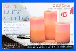 Набор светодиодных свечей Luma Candles 12 цветов