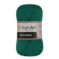Пряжа Begonia 50гр - 169м (6334 Зеленый) YarnArt