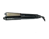 Утюжок выпрямитель для волос Kemei ZGQ-KM 289S, фото 3