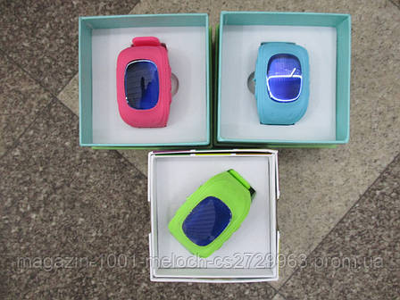 Детские Смарт часы Smart Baby Watch Q50 (blue, pink, green), фото 2