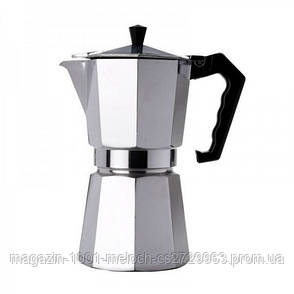 Гейзер кофеварка UNIQUE UN-1911 (KP1-3) алюминий, фото 2