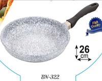 Сковорода Benson с антипригарным гранитным покрытием 26см