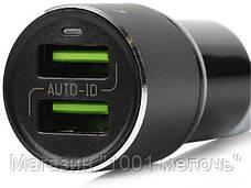 SALE! Автомобильное зарядное устройство LDNIO C303 (3.6A / 2 USB порта + кабель для iPhone)!Хит цена, фото 3