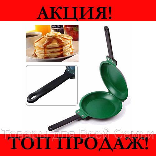 Двухсторонняя сковорода для приготовления блинов и панкейков Pancake Maker!Хит цена