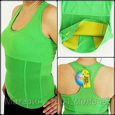 Sale! Женская спортивная Майка Hot Shapers ЗЕЛЕНАЯ размер XL, фото 3