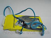Наушники змейка Zipper earphones!Хит цена, фото 3