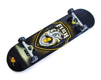 Скейтборд (Скейт) деревянный от Fish Skateboard Heart