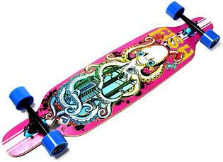 Лонгборд (Long Board) для даунхилла Original Fish (Фиш) Octopus