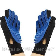 Перчатка для чистки животных Pet Brush Glove, фото 3