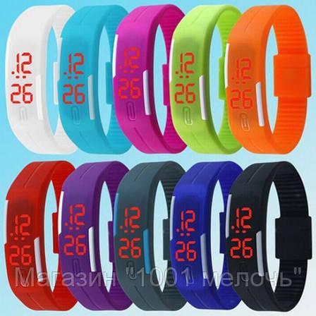 SALE! ЦЕНА ЗА 4 ШТ Спортивные часы-браслет КОРИЧЕВЫЕ, фото 2