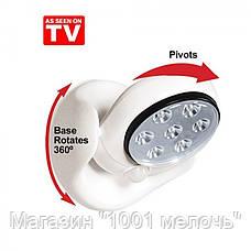 """Универсальный светильник подсветка """"Light Angel"""" с датчиком движения, светодиоидным светом, с креплением, фото 2"""