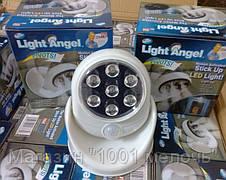 """Универсальный светильник подсветка """"Light Angel"""" с датчиком движения, светодиоидным светом, с креплением, фото 3"""