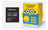 "Копилка электронная сейф ""MINION"" - банкомат для денег, с пин-кодом, фото 3"