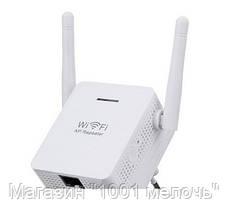 Беспроводной репитер с EU plug LV-WR 02E, Wi-Fi репитер, повторитель wifi сигнала, ретранслятор вай фай, фото 2