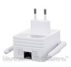 Беспроводной репитер с EU plug LV-WR 02E, Wi-Fi репитер, повторитель wifi сигнала, ретранслятор вай фай, фото 3