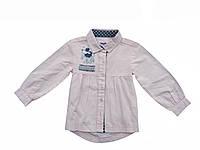 Блуза нарядная розовая  для девочки 1-2 года
