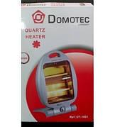 SALE!Электрообогреватель Domotec 800W DT-1601(цвет-красный с черным)