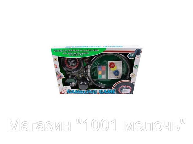 SALE!Настольная игра Покер-Рулетка. Gambling game 88130B, фото 2