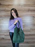 Женская сумка из натуральной замши, фото 3