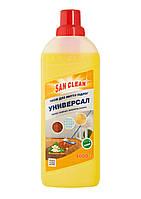 Средство для мытья пола (Универсал) с ароматом лимон 1000мл - Сан Клин
