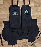 Чехлы-накидки на сиденья с вышивкой логотипа, фото 10