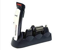 Аккумуляторная машинка для стрижки Gemei Gm-591, 5 в 1 (набор для стрижки волос и бороды), фото 1