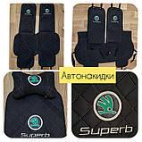 Чехлы-накидки на сиденья с вышивкой логотипа, фото 3