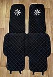 Чехлы-накидки на сиденья с вышивкой логотипа, фото 4