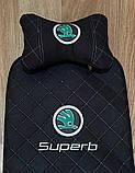 Чехлы-накидки на сиденья с вышивкой логотипа, фото 9