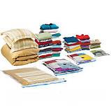 Пакет Vacum Bag  80*110, Вакуумный пакет для одежды, фото 8