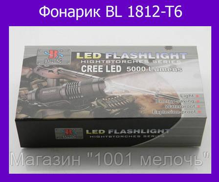 Тактический фонарик Bailong BL 1812-T6, фото 2
