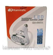 Светодиодная энергосберегающая лампа с аккумулятором KM-5607А, фото 3