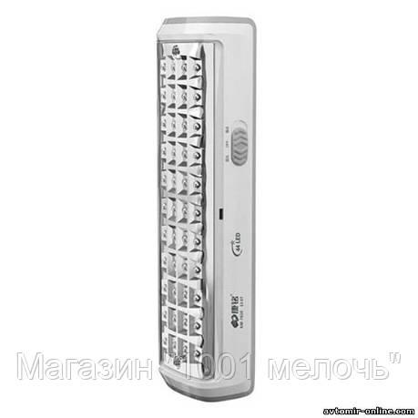 Светодиодный аккумуляторный LED фонарь Kamisafe KM-7610A 44 LED, фото 2