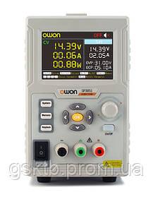 SP3051 блок живлення регульований OWON, 1 канал: 0-30 В, А 0-5