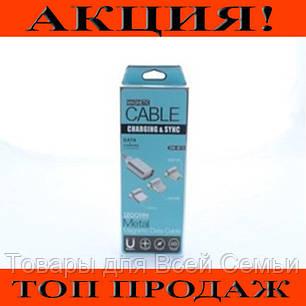 Кабель для мобильного magneti micro магнитный AR 49!Хит цена, фото 2