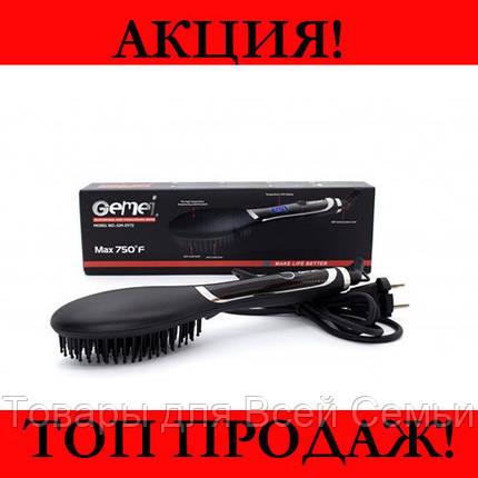 Выпрямитель расчёска волос GM-2972!Хит цена, фото 2