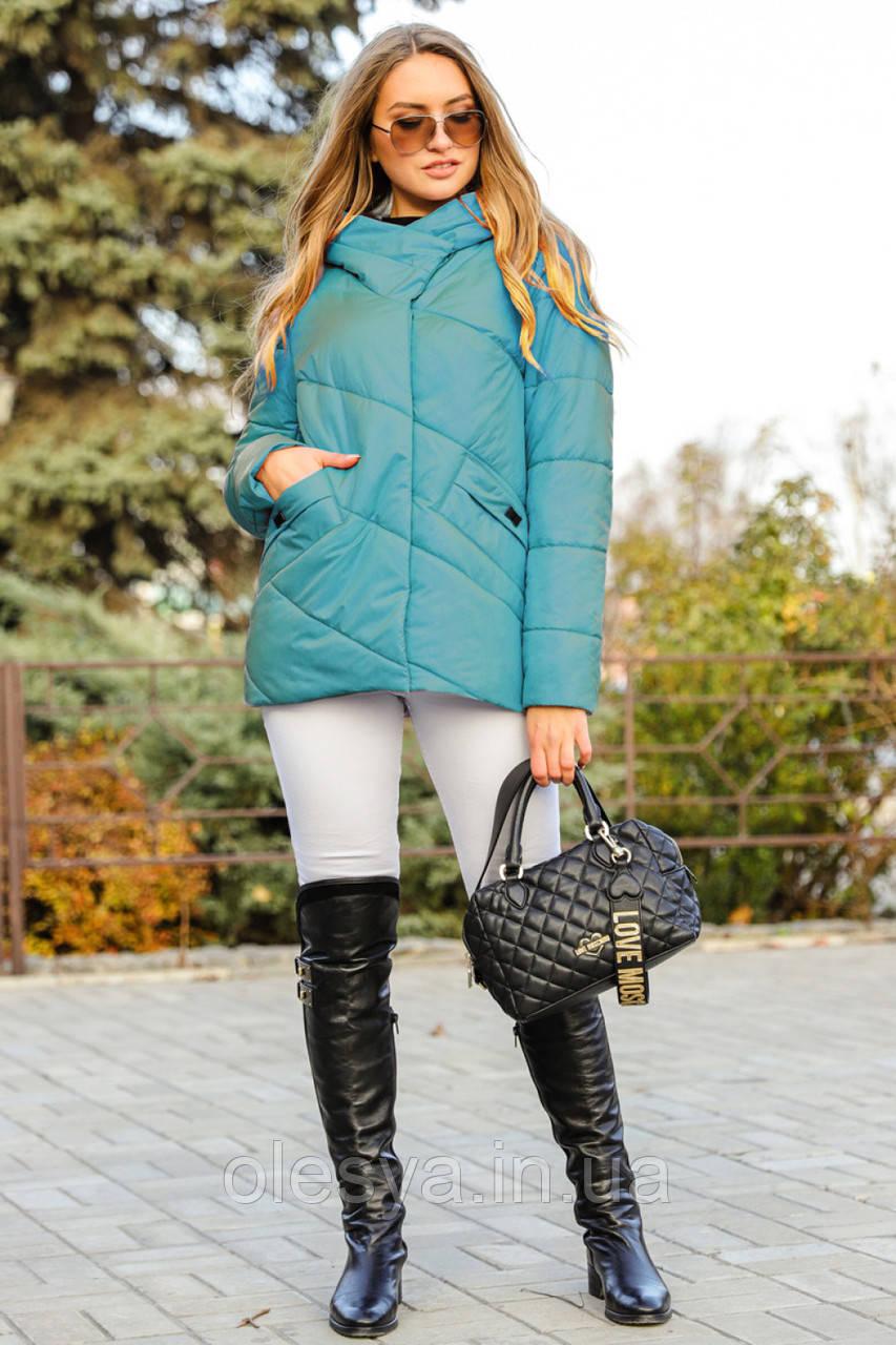 Куртка молодежная стильная Фира тм НуиВери Размеры 44, 48- 54 Новинка !